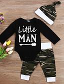 זול אוברולים טריים לתינוקות לבנים-סט של בגדים שרוול ארוך דפוס בנים תִינוֹק