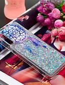 זול מגנים לטלפון-מגן עבור Samsung Galaxy Galaxy A7(2018) / A3 (2017) / A5 (2017) עמיד בזעזועים / נוזל זורם / תבנית כיסוי אחורי נוצות / זוהר ונוצץ רך TPU