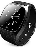 hesapli Akıllı Saatler-Erkek Akıllı İzle Dijital Modern Stil Stortif Silikon 30 m Su Resisdansı Bluetooth Smart Dijital Dış Mekan Moda - Siyah Beyaz Mavi