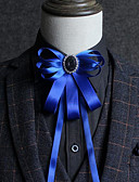 זול עניבות ועניבות פרפר לגברים-עניבת פפיון - אחיד מסיבה / פעיל בגדי ריקוד גברים