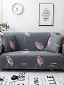 billige Kjoler med tryk-Sofa Dække Planter Trykt Polyester Møbelovertræk