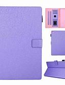 Недорогие Чехол Samsung-Кейс для Назначение SSamsung Galaxy Tab A2 10.5(2018) T595 T590 / Tab A 10.1 (2016) / Samsung Tab A 10.1 (2019) T510 Бумажник для карт / Защита от удара / со стендом Чехол Однотонный Твердый Кожа PU