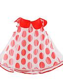 זול שמלות לתינוקות-שמלה ללא שרוולים מנוקד בנות תִינוֹק