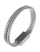 זול מטען כבלים ומתאמים-מיקרו USB כבל 0.2m (0.65Ft) מהירות גבוהה / ציפוי זהב ABS + PC מתאם כבל USB עבור סמסונג / Huawei / LG