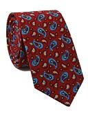 זול עניבות ועניבות פרפר לגברים-עניבת צווארון - פרחוני / דפוס / פייסלי מסיבה / פעיל בגדי ריקוד גברים