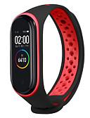זול להקות Smartwatch-צפו בנד ל Mi Band 3 / להקת Xiaomi 4 Xiaomi רצועת ספורט סיליקוןריצה רצועת יד לספורט