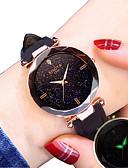 זול שעונים קוורץ-בגדי ריקוד נשים קווארץ יום יומי אופנתי שחור אדום חום דמוי עור קווארץ שחור סגול שמפניה שעונים יום יומיים חמוד אנלוגי