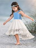 זול סטים של ביגוד לתינוקות-שמלה שרוולים קצרים טלאים בנות תִינוֹק