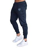 cheap Men's Pants & Shorts-Men's Basic EU / US Size Chinos / Sweatpants Pants - Striped Stripe Cotton Dark Gray Navy Blue Light gray L XL XXL / Drawstring