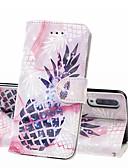 זול מגנים לטלפון-מגן עבור Samsung Galaxy A6 (2018) / A6+ (2018) / Galaxy A7(2018) ארנק / מחזיק כרטיסים / עמיד בזעזועים כיסוי מלא אוכל קשיח עור PU