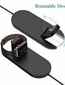 זול מטען כבלים ומתאמים-2 ב 1 צ'י מהיר אלחוטי טעינה בלוק עומד iwatch מטען עבור Apple Watch סדרה 2/3 iPhone x 8 8plus Samsung גלקסיה הערה צ 'י המכשיר