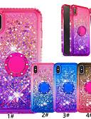 זול מגנים לאייפון-מארז עבור iPhone xr / iPhone xs מקסימום נצנוץ ברק / טבעת מחזיק בחזרה צבע כיסוי צבע רך tpu עבור ir iPhone 6/6 פלוס / 6s / 6s פלוס / 7/7 פלוס / 8/8 פלוס / x / xs