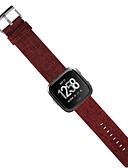 זול להקות Smartwatch-צפו בנד ל Fitbit Versa פיטביט רצועת ספורט בד / סיליקוןריצה רצועת יד לספורט