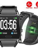 זול להקות Smartwatch-STV2 גברים Smart צמיד Android iOS Blootooth עמיד במים מסך מגע מוניטור קצב לב מודד לחץ דם ספורטיבי מד צעדים מזכיר שיחות מד פעילות מעקב שינה תזכורת בישיבה