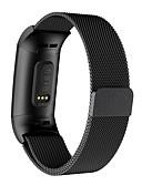 זול להקות Smartwatch-מתכת מגנטי נירוסטה milanese לולאה wristband פרק כף היד רצועת לצפות עבור fitbit תשלום 3