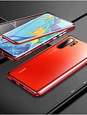 זול מגנים לטלפון-מגנטו מגנטי ספיחה מתכת מתכת מקרה עבור huawei p30 Pro p30 לייט p30 במקרים חזרה לכסות עבור huawei p20 Pro p20 לייט p20