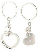 hesapli ipad kılıfı-Anahtarlık Kalp Moda Yüzükler Mücevher Gümüş Uyumluluk Hediye sevgililer günü