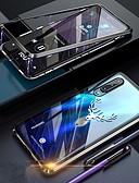 Недорогие Чехлы для телефонов-Кейс для Назначение Huawei Huawei P30 Pro Защита от удара / Защита от пыли / Прозрачный Чехол Прозрачный Твердый Закаленное стекло