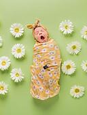 זול ילדים כובעים ומצחיות-מידה אחת צהוב אביזרי שיער / שמיכה כותנה / פוליאסטר פרחוני / סגנון פרחוני / דפוס פרחוני חִנָנִית פעיל / מתוק בנות עולל / תינוק