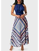 זול שמלות קוקטייל-גזרת A עם תכשיטים באורך הקרסול סאטן נמתח מסיבת קוקטייל שמלה עם דוגמא \ הדפס על ידי LAN TING Express