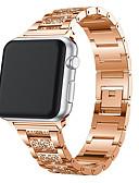 Недорогие Чехол для умных часов-для apple watch band 40мм 44мм 38мм 42мм женщины бриллиантовый ремешок для apple watch series 4 3 2 1 браслет iwatch ремешок из нержавеющей стали