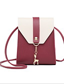 povoljno Bluza-Žene Zakovica PU Torba preko ramena Red / Blushing Pink / Sive boje