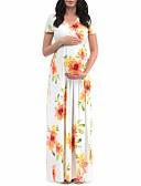 זול מכנסיים וחצאיות-מקסי טלאים דפוס גלישה, פרחוני - שמלה עבאיה אלגנטית בגדי ריקוד נשים