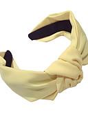זול לבוש ראש לנשים-רצועות ראש אביזרים לשיער בד אבזרי פאות בגדי ריקוד נשים 1 pcs יח סנטימטר קזו'אל / לבוש יומיומי / יום יומי\קז'ואל רגיל / לנופש נשים / קל במיוחד (UL)