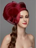 povoljno Maxi haljine-Net Fascinators / Šešir / Headpiece s Perje / Cvijet / Trim 1 komad Vjenčanje / Special Occasion Glava