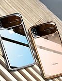 זול מגנים לאייפון-מגן עבור Apple iPhone XS / iPhone XR / iPhone XS Max מראה כיסוי אחורי שקוף קשיח זכוכית משוריינת