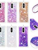 Недорогие Чехлы для телефонов-Кейс для Назначение LG LG Stylo 5 Защита от удара / Защита от пыли / Движущаяся жидкость Кейс на заднюю панель 3D в мультяшном стиле / Сияние и блеск Мягкий ТПУ