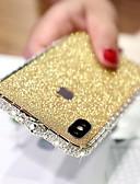 זול מגנים לאייפון-מגן עבור Apple iPhone XS / iPhone XR / iPhone XS Max ריינסטון כיסוי אחורי אחיד קשיח מתכת