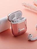 זול מארזי AirPods-מגן עבור AirPods עמיד בזעזועים / ציפוי מארז אוזניות רך