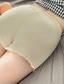 hesapli Kadın Pantolonl-Kadın's Temel Şortlar Pantolon - Solid Siyah Doğal Pembe Sarı L XL XXL