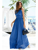 hesapli Kadın Etekleri-Kadın's Kılıf Elbise - Solid Maksi