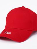 זול כובעים לגברים-כל העונות לבן שחור אודם כובע בייסבול אחיד פרחוני כותנה פעיל בסיסי סגנון חמוד בגדי ריקוד גברים