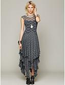 povoljno Maxi haljine-Žene Korice Haljina Jednobojni Maxi