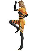 זול חליפת גוף-פָּרַת מֹשֶׁה רַבֵּנוּ תלבושות בגדי ריקוד נשים תחפושות משחק של דמויות מסרטים יום יומי צהוב / סרבל תינוקותבגד גוף