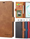 voordelige Mobiele telefoonhoesjes-luxe hoesje voor Samsung Galaxy Note 10 plus Galaxy Note 10 Galaxy Note 9 telefoonhoes lederen flip portemonnee magnetische hoes met kaart