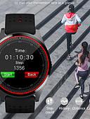 hesapli Akıllı Saatler-Akıllı İzle Dijital Modern Stil Stortif Silikon 30 m Su Resisdansı Kalp Ritmi Monitörü Bluetooth Dijital Günlük Dış Mekan - Yeşil Siyah / Mavi Siyah / Yeşil