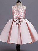 זול שמלות לבנות-שמלה ללא שרוולים טלאים בנות ילדים