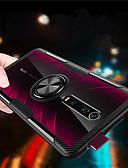 זול מגנים לטלפון-עמדת טבעת מגנטית סיליקון מקרה ל xiaomi mi 9 t pro mi 9 t mi cc9e mi cc9 מקרה עמיד הלם שריון שקוף קשיח מחשב כריכה אחורית tpu קצה