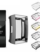זול מקרה Smartwatch-לטעינת fitbit 2 צמיד tpu ultrathin כיסוי מגן מלא