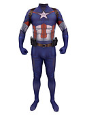 povoljno Zentai odijela-Inspirirana Cosplay Super Heroes Anime Cosplay nošnje Japanski Cosplay Suits Zentai odijela / Tregeri / 1 pojas Za Muškarci