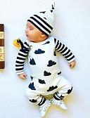 povoljno Baby Boys' One-Piece-Dijete Dječaci Aktivan / Osnovni Print / Color block Print Dugih rukava Jednodijelno Obala