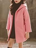 povoljno Džemperi i kardigani za djevojčice-Djeca Djevojčice Osnovni Jednobojni Baloner Blushing Pink