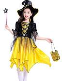 זול שמלות לבנות-שמלה חצי שרוול קולור בלוק בנות ילדים
