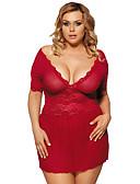 povoljno Seksi tijela-Žene Čipka Odijelo Noćno rublje Jednobojni Red M L XL