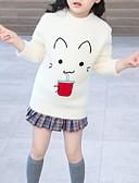 povoljno Džemperi i kardigani za djevojčice-Djeca Djevojčice Osnovni Print Dugih rukava Džemper i kardigan Obala