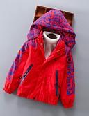 povoljno Džemperi i kardigani za dječake-Djeca Dječaci Osnovni Print Normalne dužine Jakna i kaput Plava